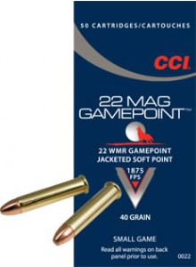 CCI 22 Win Mag GamePoint