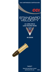 CCI 22 Long Rifle Standard Velocity