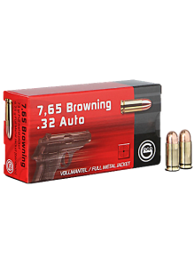 GECO 7,65 BROWNING FMJ ROUND-NOSE 73 GR