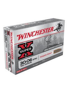 Winchester 30-06 SPRG 150 Grs. gr. Super-X