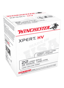 Winchester 22 Long Rifle 36 gr. XPERT